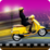 Girls Scooty Race Icon