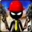 Stickman Sniper Shooting 3D Icon