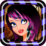 Dress Up Gothic Girl Icon