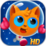 Space Kitty Puzzle Icon