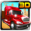 Uphill Truck 3D Icon