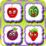 Match Smiley Fruit Icon