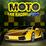 Moto Car Racing Icon