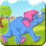 Coloring Elephant Fun Moments Icon