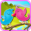 Fun Lovebirds Kiss Kiss Icon