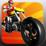 Moto Bike Racing Icon