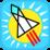 Bounce Rocket Icon