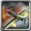 Air Force Combat Fighter 3D Icon
