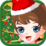Christmas Girl Dress Up Icon