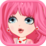 Pink Fashion Dress Up Icon