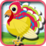 Matching Colorful Turkey Icon