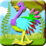 Coloring Peppy Ostrich Icon