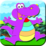 Coloring Proud Alligator Icon