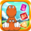 Dinosaur Bejeweled Sweet Gems Icon