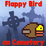 Flap Bird on Cemetery Icon