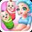 Newborn Twins Baby Care Icon