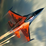 Jet Plane Strike Icon