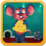 Mouse And Cheese Icon