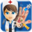 Baby Girl Hand Doctor Kid game Icon