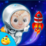 Kids Space Adventure Icon