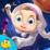 Kids Learning Planets Icon