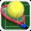 International Tennis Court Icon