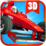3D Car Racing Icon