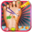 Baby Girl Foot Doctor Game Icon