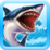 Shark Simulator Beach Attack Icon