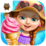 Sweet Baby Girl Summer Fun Icon