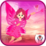 Alien Super girl Pink princess Icon