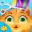 Crazy Cat Makeover Icon