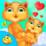 Kitty Take Care New Born Baby Icon