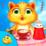 My Kitty Tea Party Icon