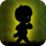Alien walk on Green Wonderland Icon