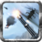 Navy Gunner Defense Warrior 3D Icon