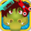 Dragon and Pig Hair Salon Icon