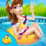 Crazy Swimming Pool Party Icon