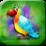 Birds Kids Memory Puzzle Icon