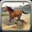 Horse vs Dog Chase Icon