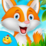 Toddler Fox Little Helper Icon