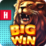 Big Win Slot Machine Casino Icon