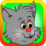 Cat Jumping Icon