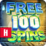 Free Spins Casino Slots Icon