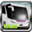 City Speed Bus Driving Icon