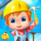 Construction Tycoon For Kids Icon