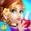 Pink Princess Nail Spa Icon