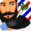 Crazy Beard Salon Icon
