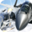 F18 F16 Dogfight Air Attack 3D Icon
