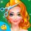Christmas Salon Girl Makeover Icon